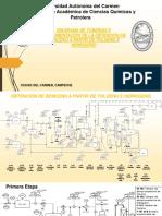 Diagrama de Tuberias e Instrumentación para la obtención del Benceno a partir del Tolueno e Hidrógeno