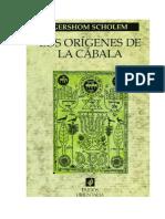 SCHOLEM, G., Los orígenes de la Cábala, 2001 [Texto].pdf