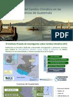 Cambio Climático y Cuencas Guatemala-ICC