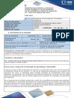 Guia de Actividades y Rúbrica de Evaluación - Pre - Tarea. Pre Saberes Del Curso