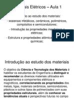 Materiais eletricos - Resumo