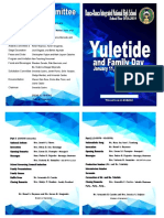 yuletide program