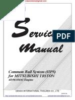 Mitsubishi Triton Service Manual