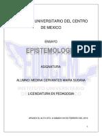 Ensayo Epistemologia