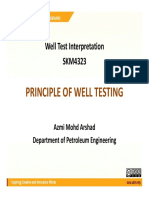 Well Test - Principle Week 02