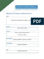 Análisis de La Subpresión en Diques Verticales