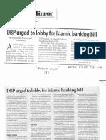 Business Mirror, Feb. 13, 2019, DBP urged to lobby for Islamic banking bill.pdf