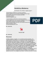 Bupivacaina y Fentanyl Cesarea