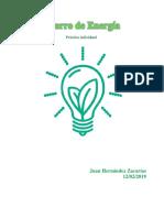 Practica Ahorro de Energía, Febrero 2019, Juan Hernández
