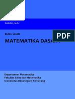 0_Buku Ajar Matematika Dasar I 2017