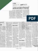 Manila Times, Feb. 13, 2019, Sara launches own slate in Pampanga.pdf