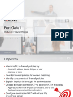 FGT1 03 Firewall Policies