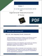 Comunicaciones Serie I2C
