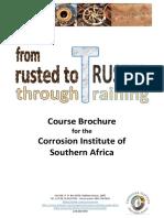 CorrISA Course Brochure Jan 2018