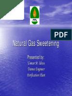 Natural Gas Sweetening