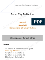 Smart City Definitions