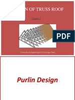 Purlin Design for Roof truss