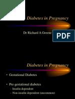 Diabetesin Pregnancy