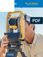 Total Station Topcon GM 105
