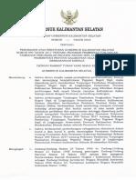 Surat Edaran Gubernur Kalimantan Selatan No 0146 Tentang Mekanisme Pembayaran Ttp 2019
