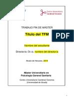 Plantilla Tfm Propuesta de Intervencion