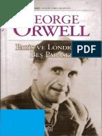 George Orwell - Paris Ve Londra'Da Beş Parasız