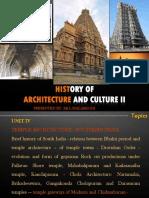 HOA II - UNIT IV - Temple Architecture - Southern India 3