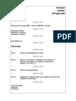 Various Situational Writing Formats