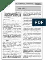 Les Modalités d'Instruction Et de Delivrande Du Certificat d'Urbanisme