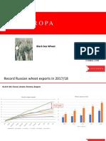 Black Sea Wheat 2018