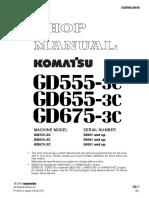 Shop Manual GD555-3C