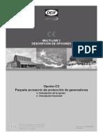 DEIF Option C2, 4189340635 ES_2013.01.25