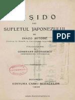 Inazo Nitobe - Bushido sau sufletul japonezului.pdf