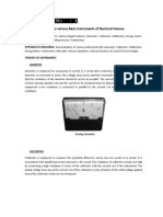 Practical 1 to Study Various Appratus