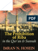 The Prohibition of Ribah in the Quran and Sunnah