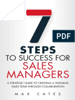 7 Steps to Success for Sales Managers
