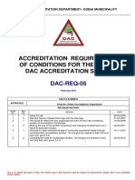 104404 Accreditation Requirements of Conditions for the u