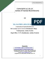 Conceptual Plan of Resort