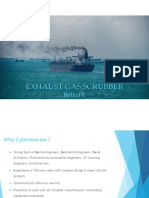 Cybermarine Scrubber Experience Presentation