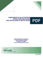 Comparison of Blast Pressures and Effects Methodologies (2009)