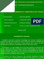 Indici calitativi şi sensoriali ai acidifianţilor din struguri