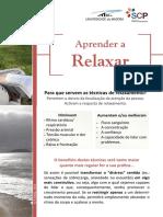 Folheto Aprender a Relaxar 1