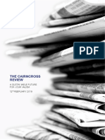021119 the CAIRNCROSS REVIEW a Sustainable Future for Journalism