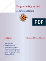 Array and Enum