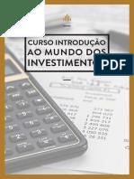Brochura Curso Introdução Investimentos