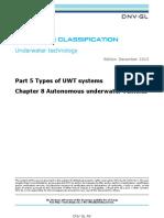DNVGL-Chapter 8 Autonomous underwater vehicles