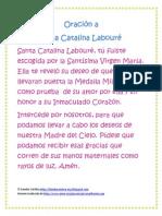 Oración a Santa Catalina Labouré
