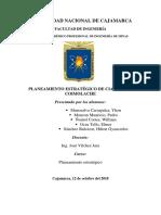 Planeamiento Estrategico CIA Minera Coimolache