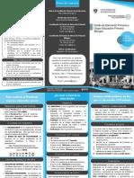 TRIPTICO EDUCACIÓN PRIMARIA Y PRIMARIA BILINGÜE 2018-2019