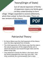 Genetic Theory
